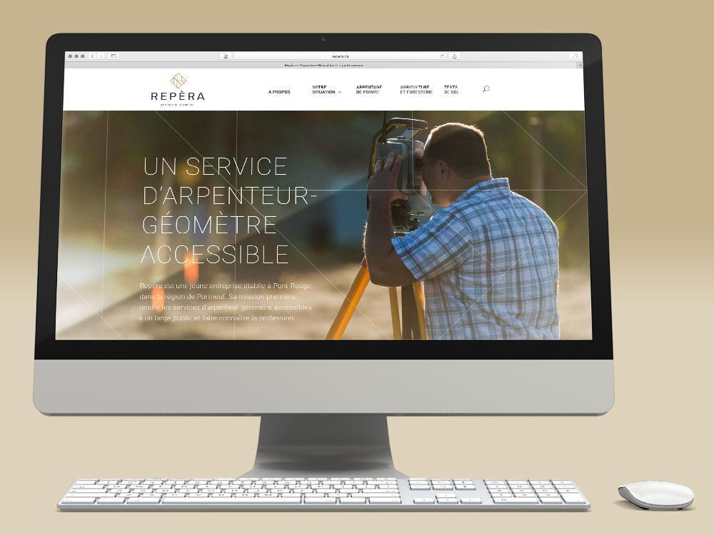 Nouveau site Web de Repèra